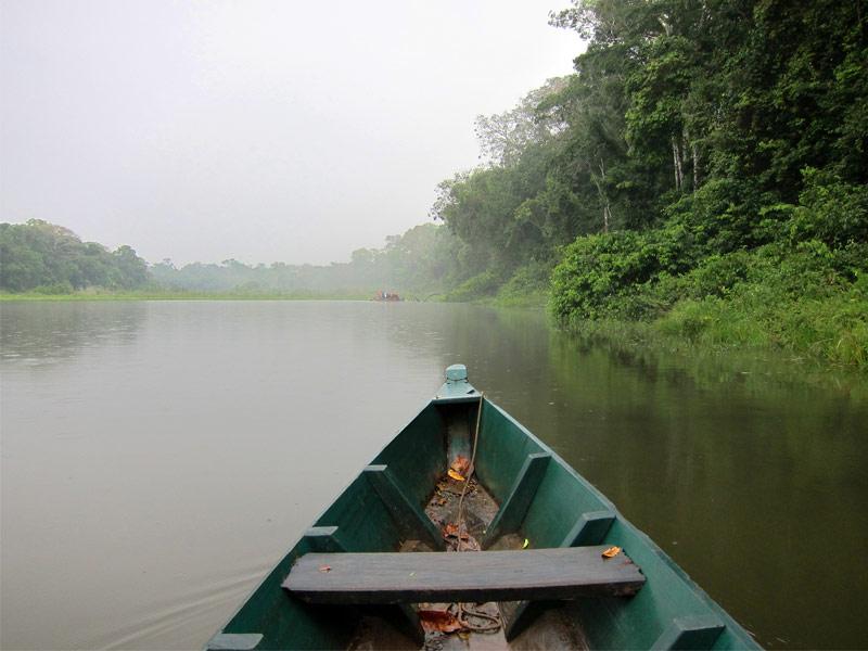 Amazon River through Peru
