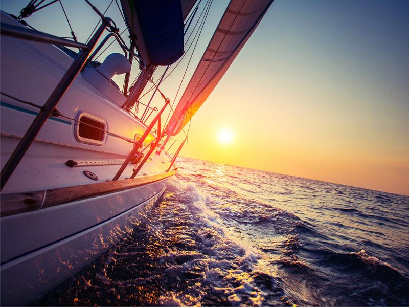 Sailing Maine