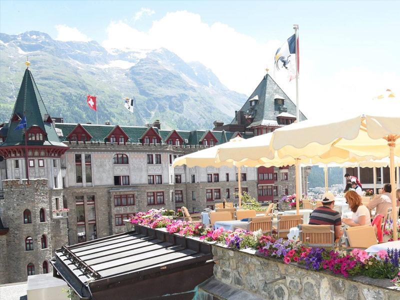 Badrutt's Palace Hotel, St. Moritz, Switzerland