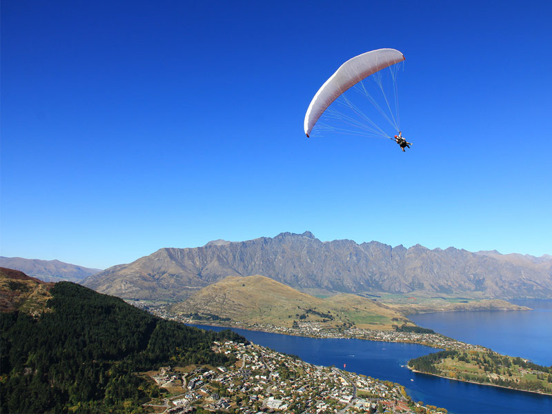 Hang Gliding in Queenstown