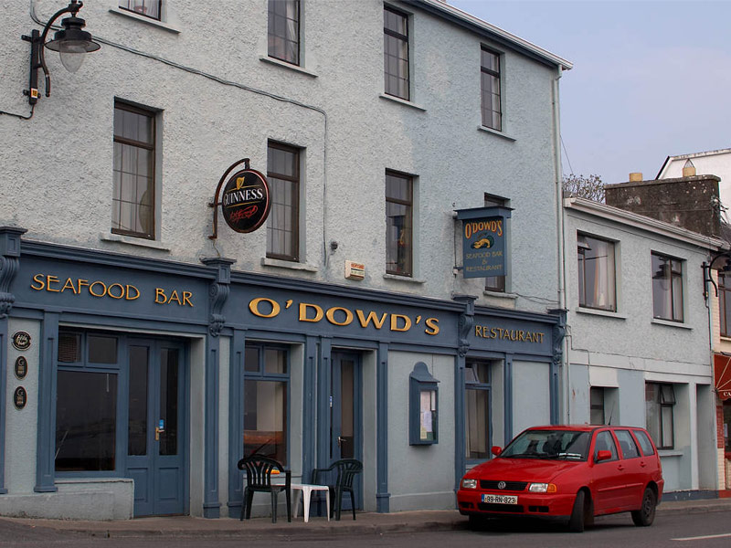 O Dowd S Seafood Bar And Restaurant Roundstone Galway