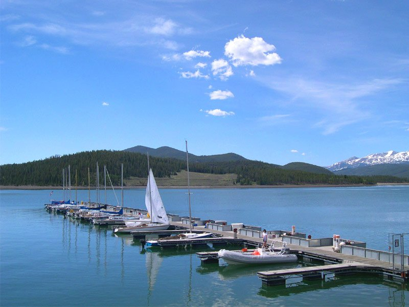 21 of america s most magnificent lake retreat escapes for Dillon reservoir fishing
