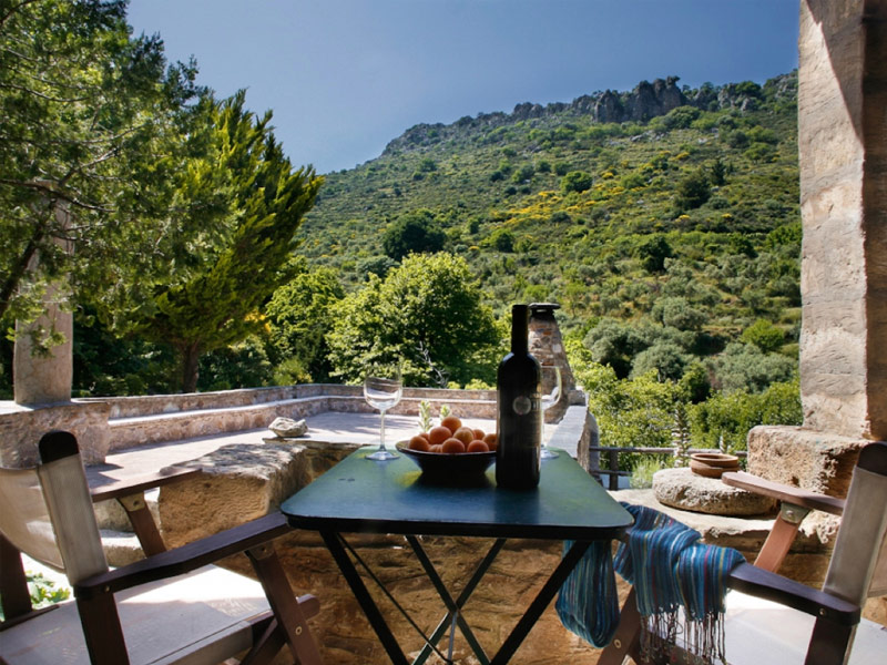 Milia Mountain Retreat, Crete, Greece