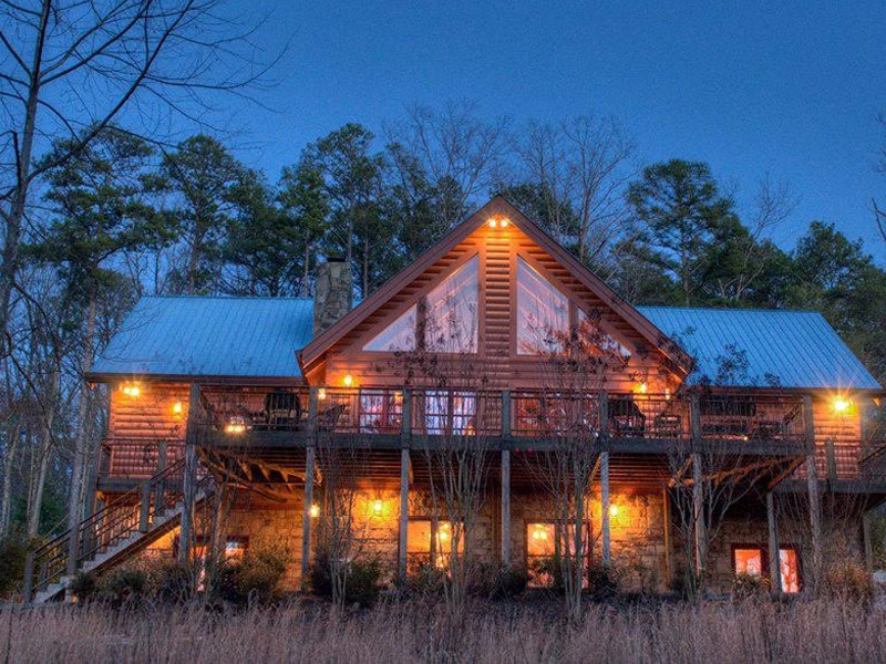 11 best cabin vacation destinations in the u s for Vacation cabins north georgia mountains
