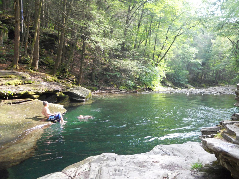 21 of the world s most amazing hidden swimming holes and waterfalls for Letchworth swimming pool prices
