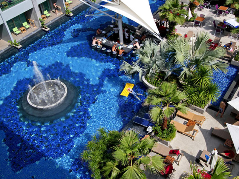 18 resorts and hotels with the most amazing swim up bars the kee resort spa patong beach phuket thailand publicscrutiny Image collections