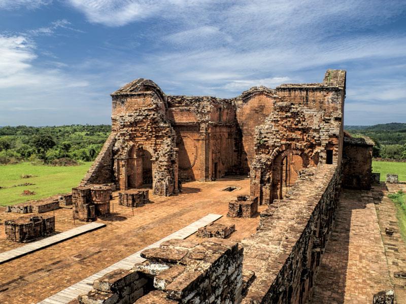 Encarnacion & Jesuit Ruins, Paraguay