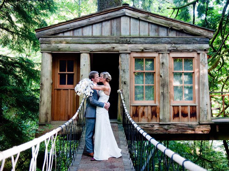 Treehouse Fall City Wa Part - 49: Tree House Point Wedding