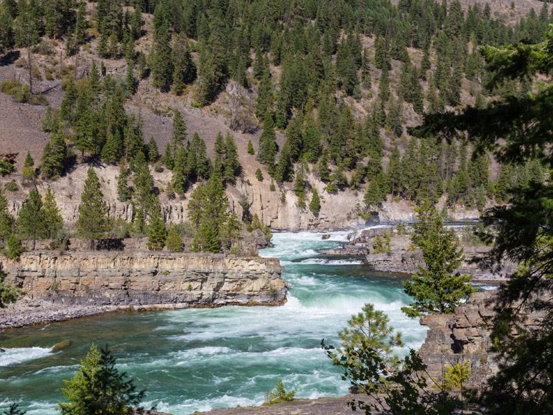 Kootenai Falls, Libby, Montana