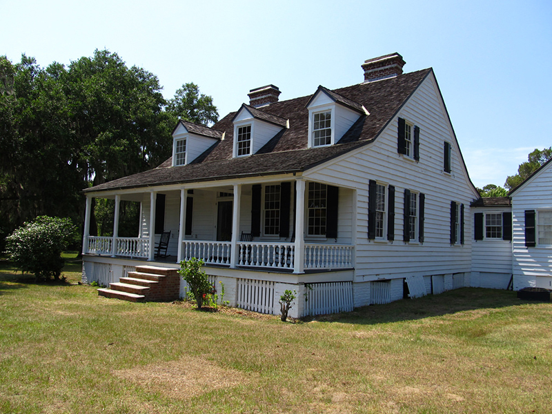House at Snee Farm, Charles Pinckney National Historic Site, Mount Pleasant,