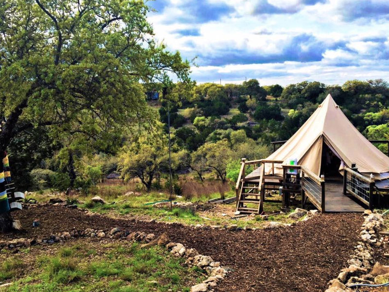 7 Stunning Glamping Spots In Texas 2018 With Photos