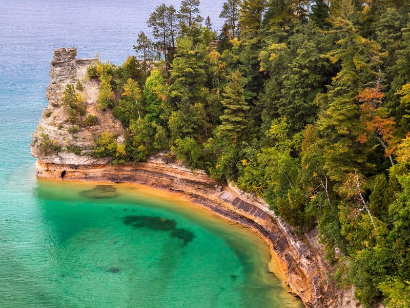 michigan places destinations travel rocks visit pictured lake national miner castle lakes visiting lakeshore highest quiz american bigstock largest tripstodiscover