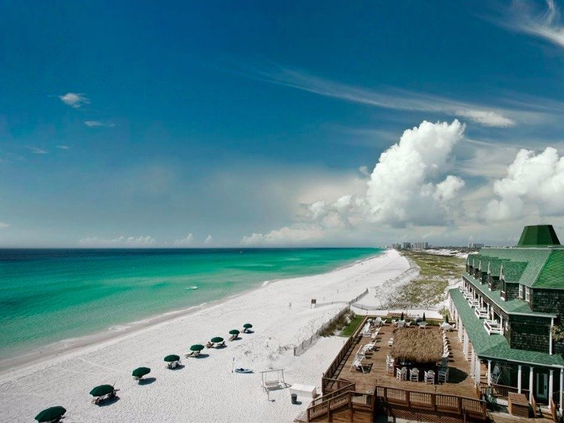 8 best destin florida beachfront hotels with photos. Black Bedroom Furniture Sets. Home Design Ideas