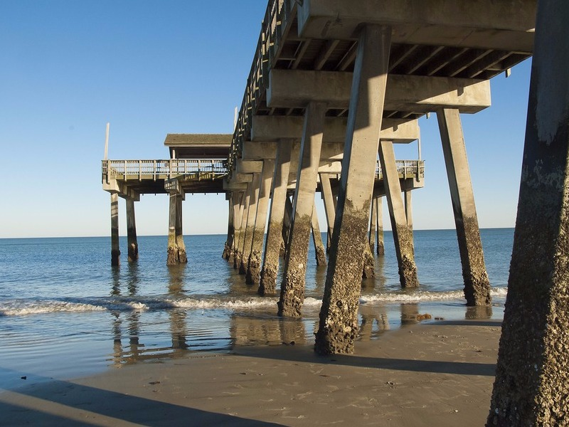 13 of the best beaches in the usa for Tybee island fishing pier