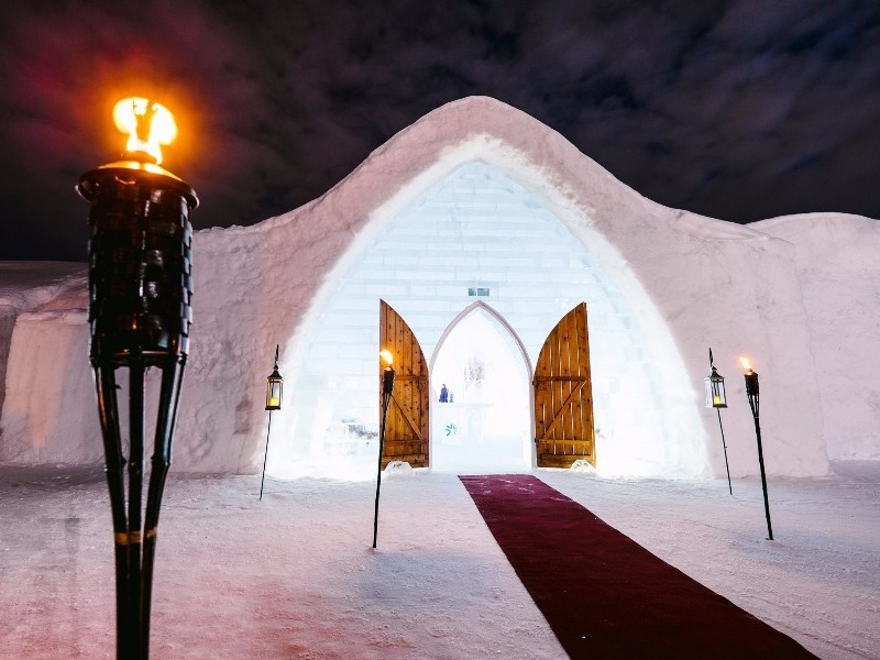 11 Incredible Ice Hotels Around The World