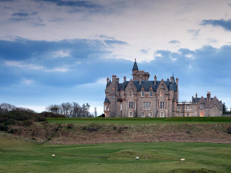 Glengorm Castle - Isle of Mull, Scotland