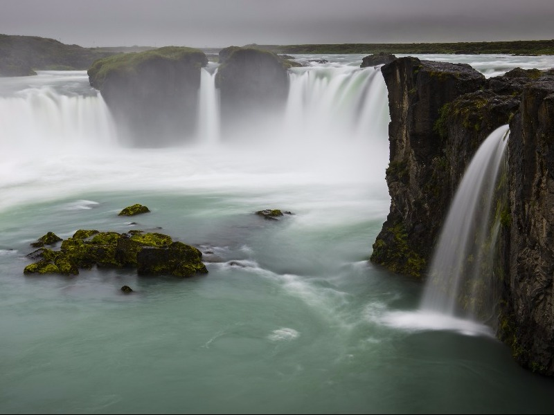Godafoss Waterfall, Akureyri, Iceland