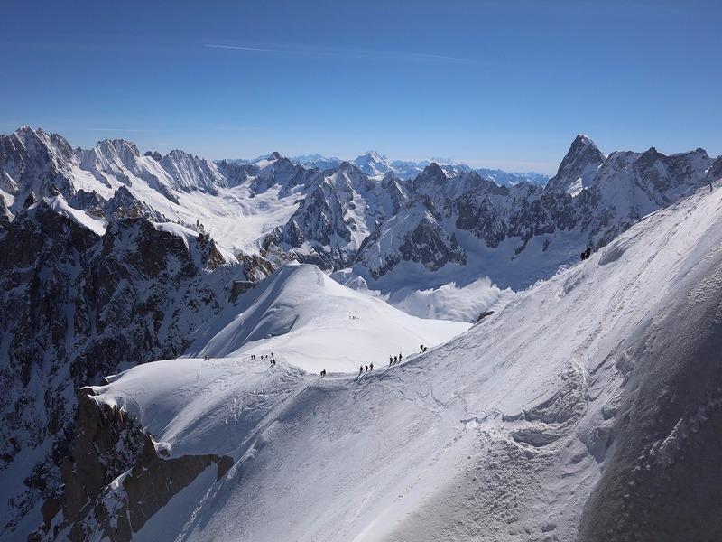 Chamonix-Mont-Blanc skiing