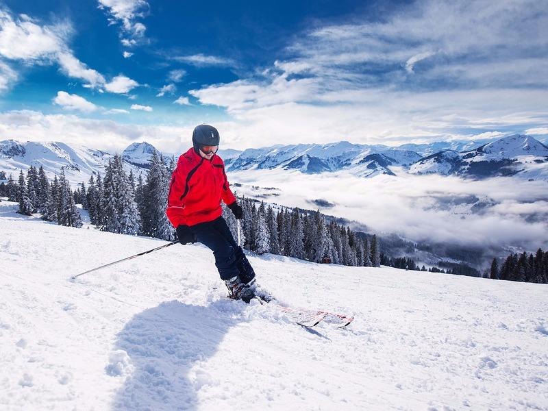 Kitzbühel skiing