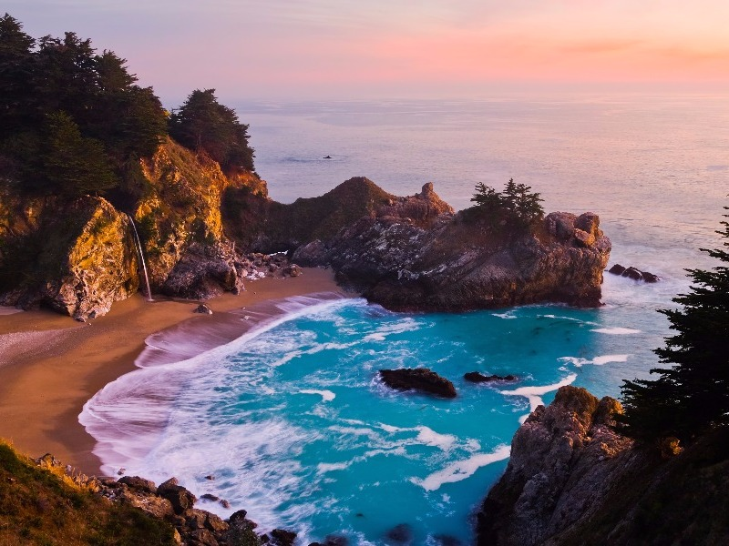 8 best romantic weekend getaways in california for couples for Weekend getaway los angeles area