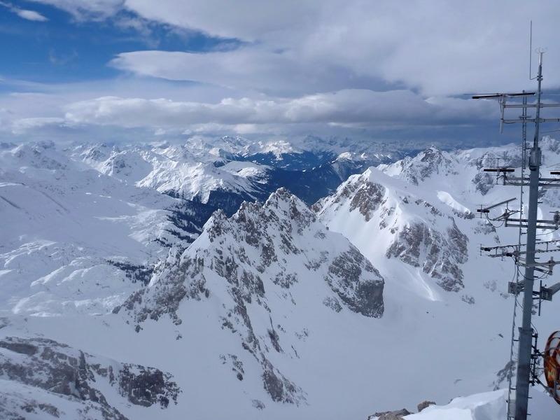 St. Anton skiing