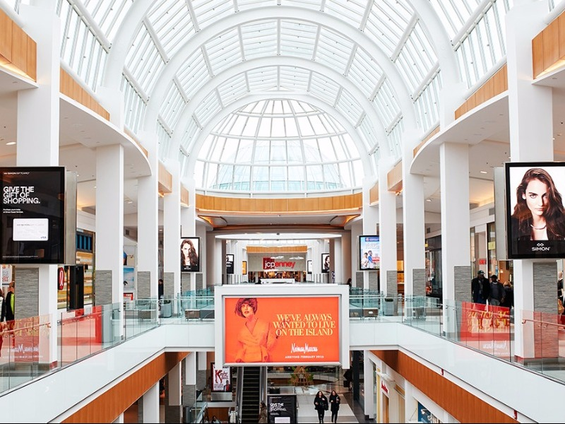 10 biggest malls in the united states for Roosevelt field jewelry stores