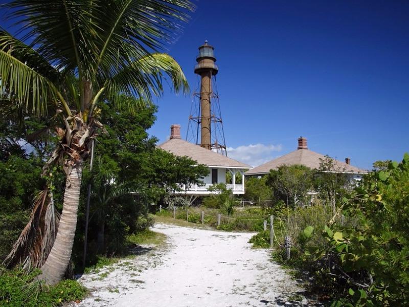 Historic Lighthouse on Sanibel Island