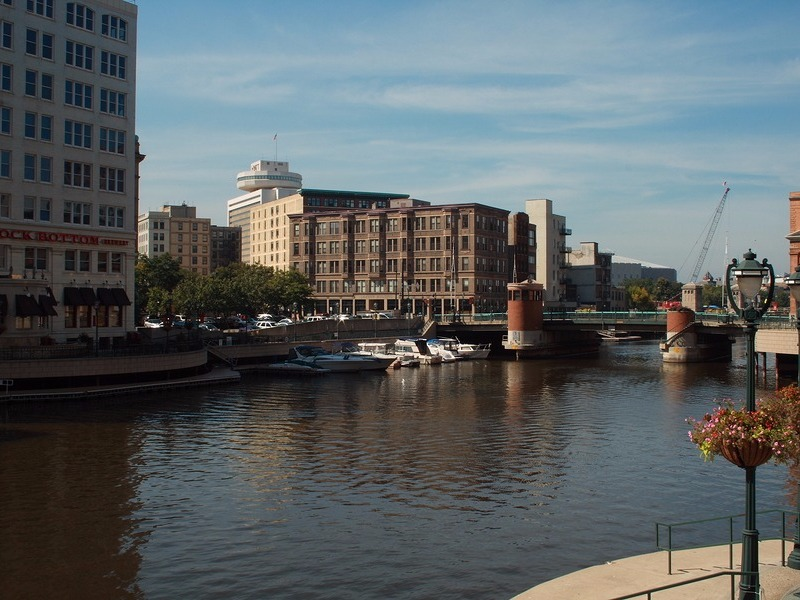 River Walk in Milwaukee