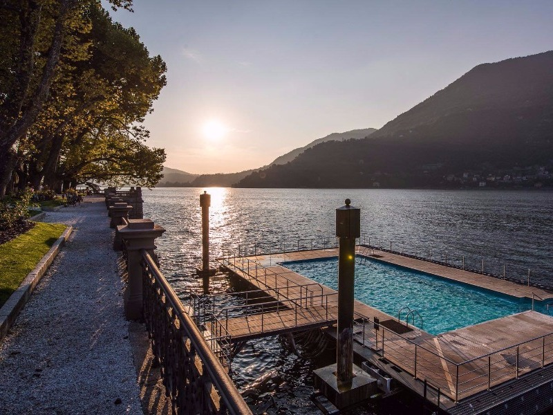 9 of the world s best lakeside hotels and resorts - Casta diva resort ...