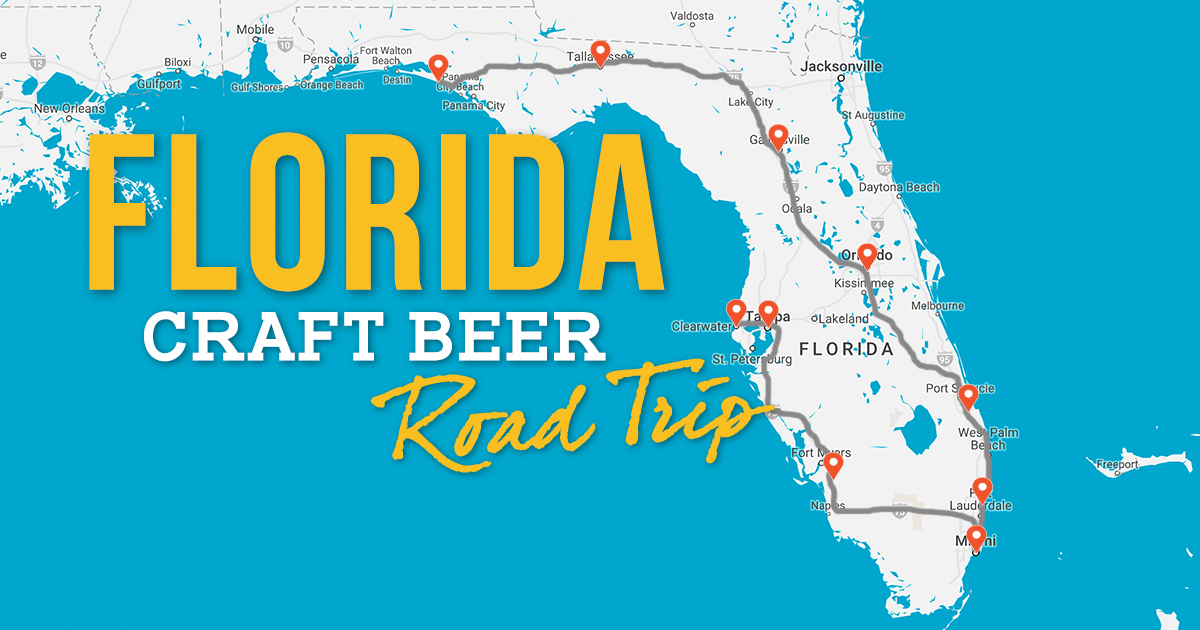 Florida Craft Breweries Map The Ultimate Florida Craft Beer Road Trip (with Photos) – Trips To