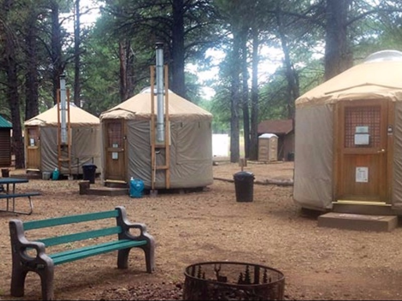 7 Best Places To Go Glamping In Arizona Tripstodiscover Com