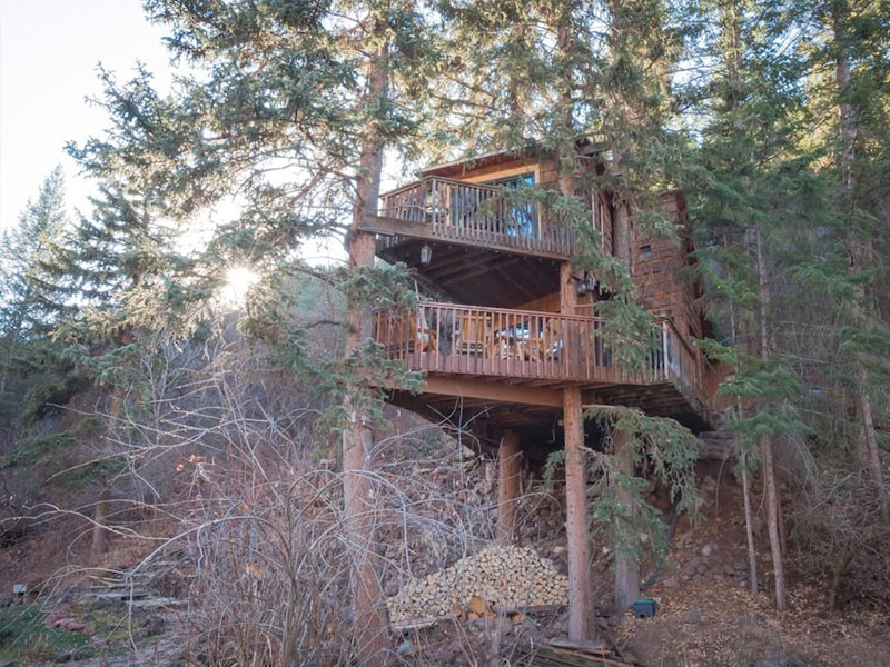 log plant stand 8 best places to go glamping in colorado tripstodiscovercom