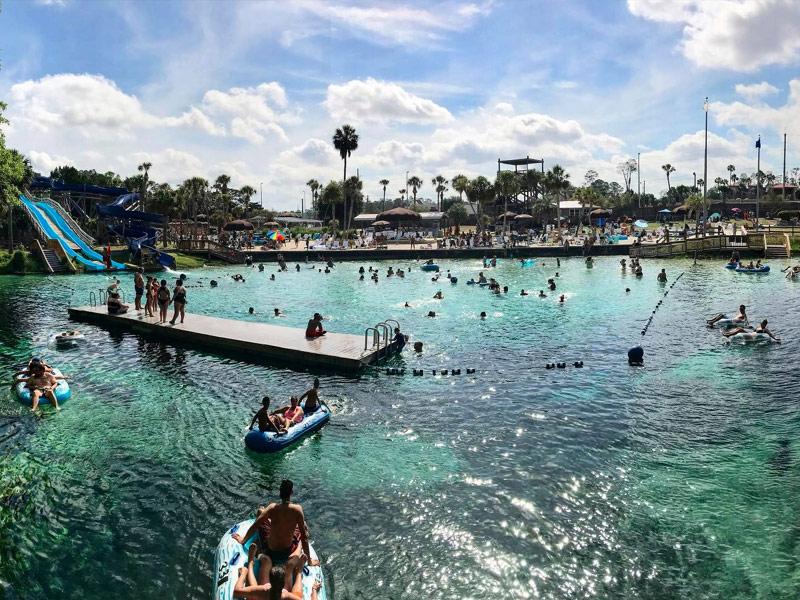 Buccaneer Bay Water Park Florida At Weeki Wachee Springs