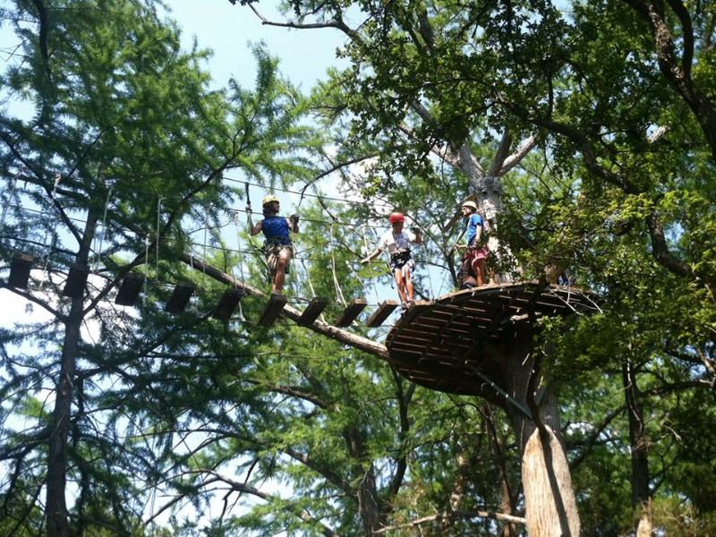 Credit Cypress Valley Canopy Tours & A Tree Top Adventure at Cypress Valley Canopy Tours in Texas ...