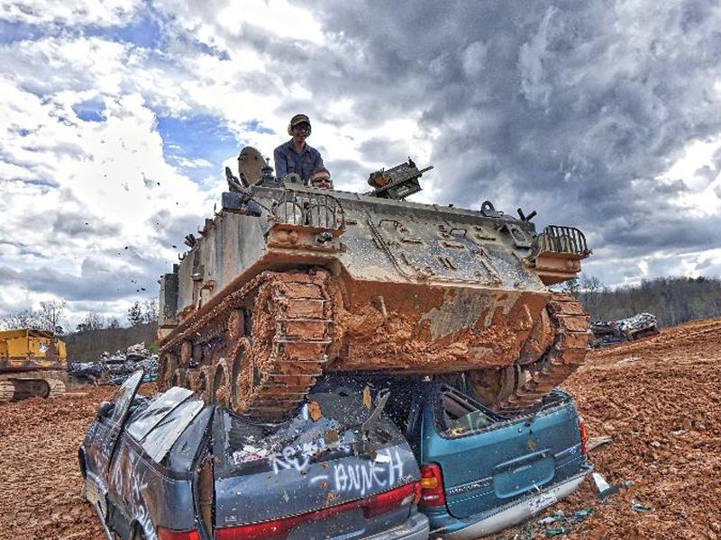 Drive Tanks and Crush Cars at Tank Town USA in Georgia ...
