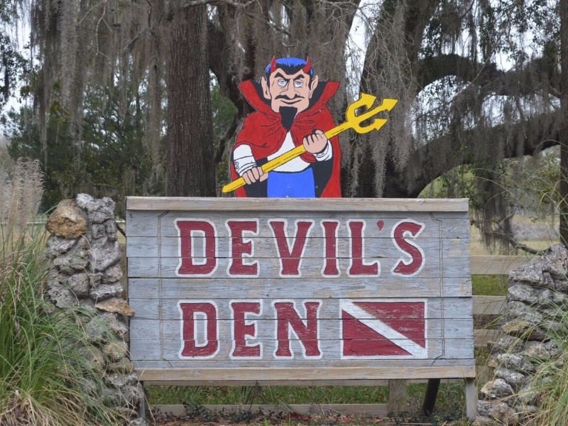 Devil S Den Cave Williston Fl Photos Amp Details
