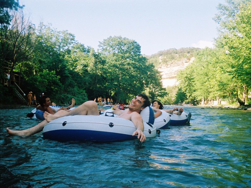9 Best Tubing Rivers In Texas With Photos
