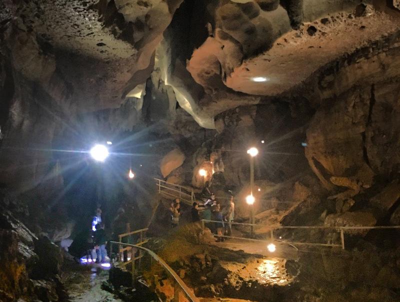 Go Caving At Cascade Caverns Near San Antonio Texas