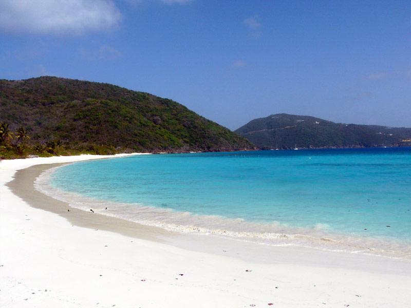 White Bay Beach, Peter Island, British Virgin Islands