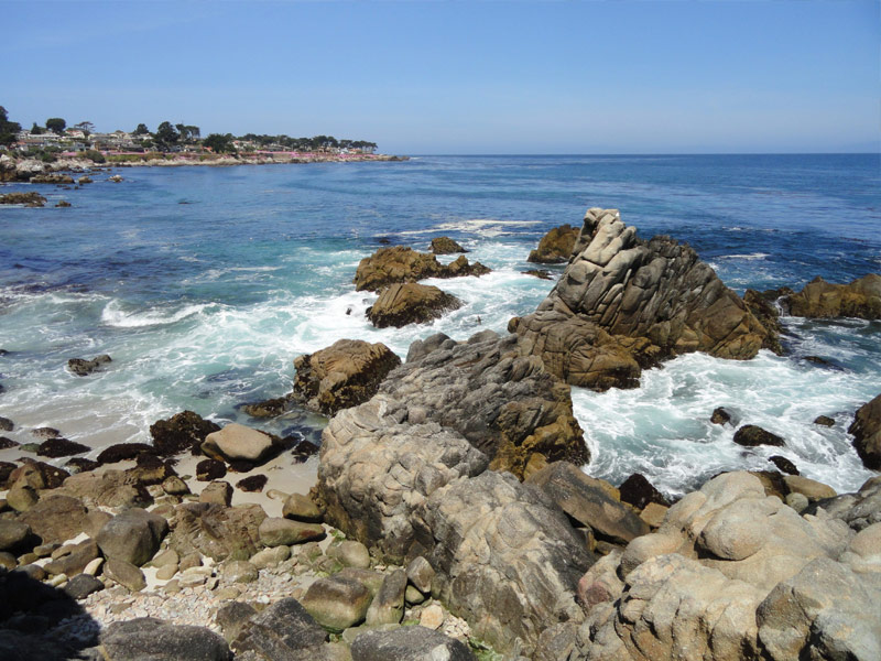 Lover's Point Beach: Pacific Grove, California