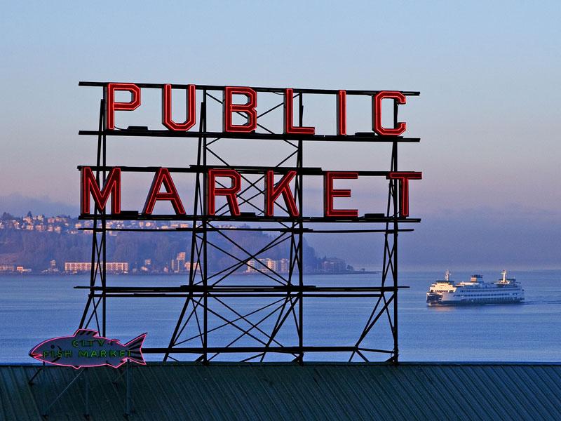 tham quan Public Market