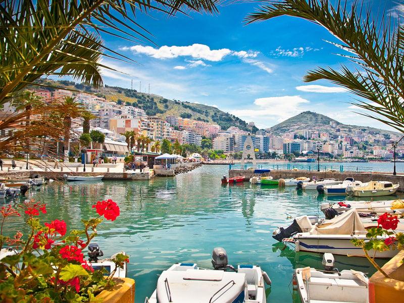Saranda's City Port, Albania