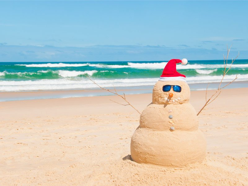 Beach Christmas.22 Best Places To Enjoy A Sunny Christmas With Photos