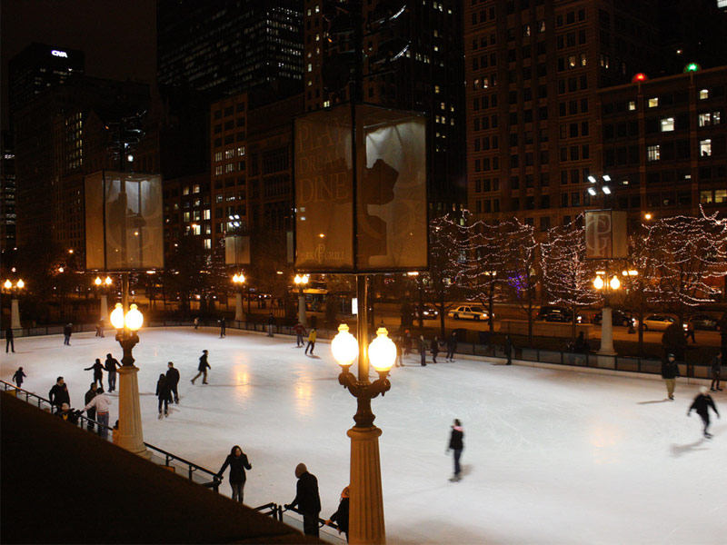 McCormick Tribune Ice Rink at Millennium Park, Chicago