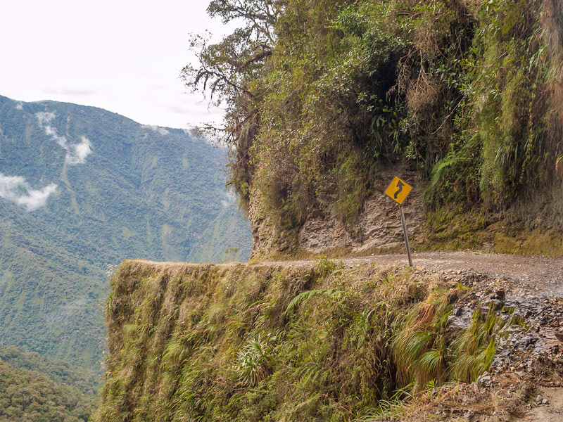 Travel down Bolivia's Death Road