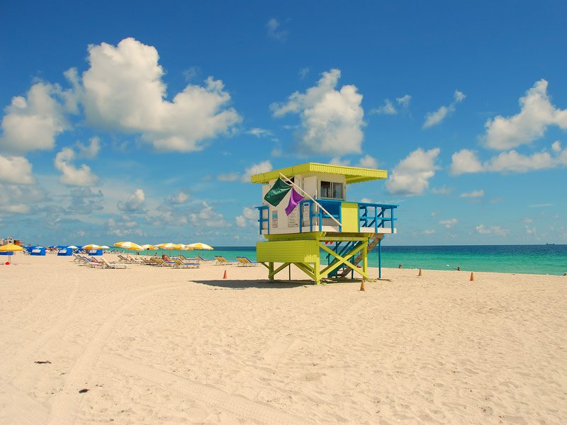 Atlantic Coast Beaches In Florida
