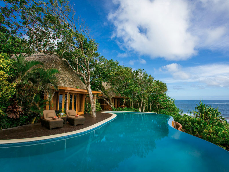 Best tropical resorts in fiji for Best spa vacations usa