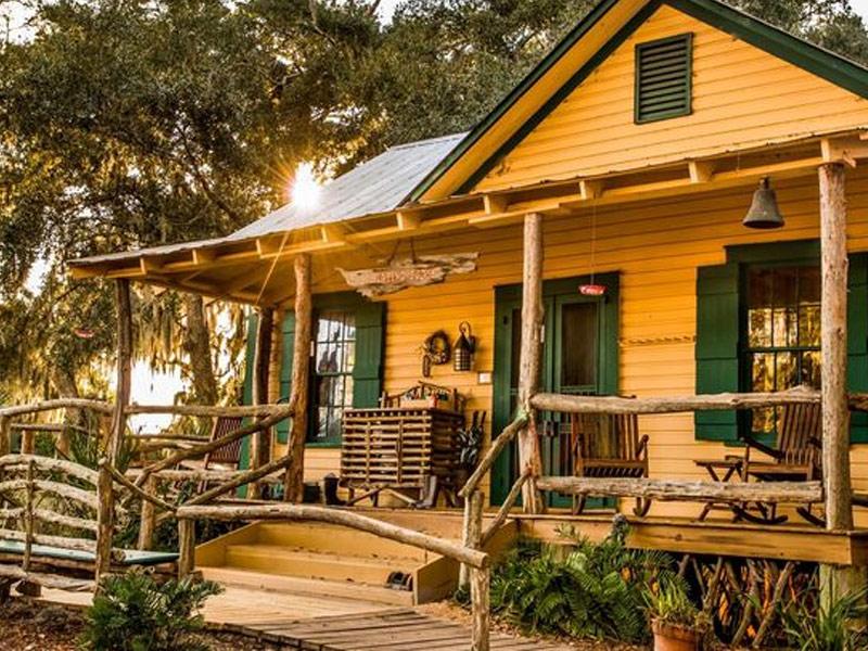 Lodge on Little St. Simons Island, Georgia