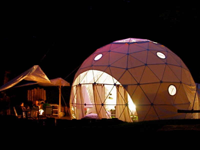 The Dome Garden Glamping – Gloucestershire, England