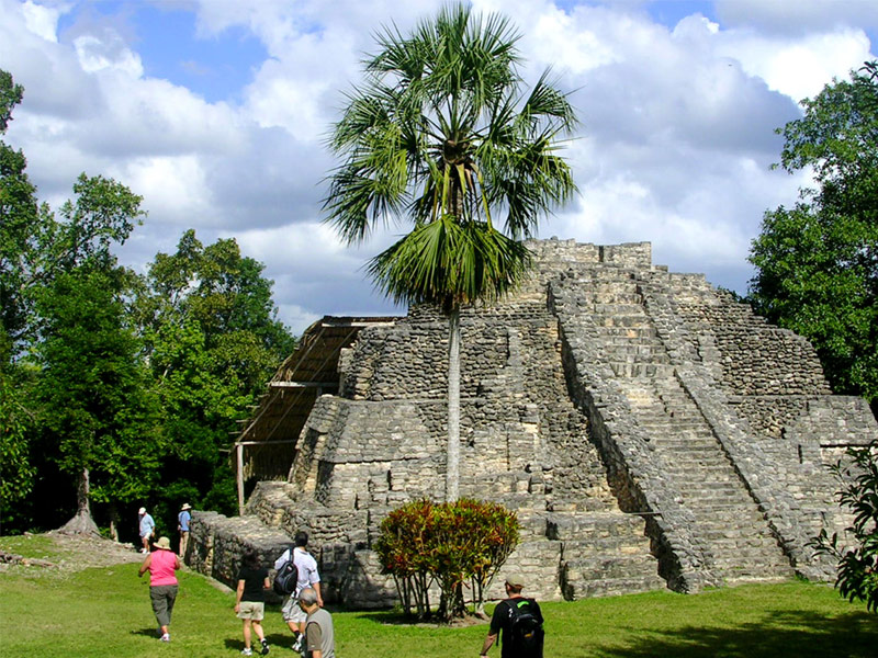 Mayan Pyramids, Mexico